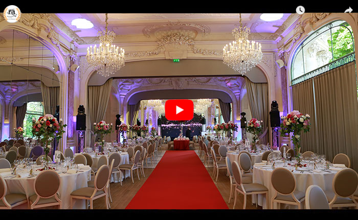 Vidéaste mariage Paris, reportage vidéo mariage Paris, vidéo soirée de mariage au Pavillon Dauphine
