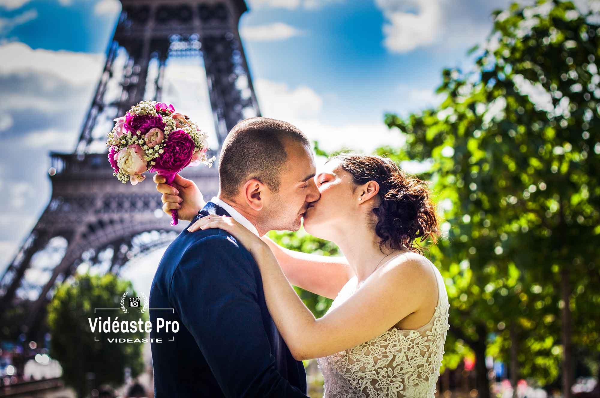 Vidéaste de mariage Paris, cameraman mariage Paris, reportage vidéo de mariage à Paris, film mariage Paris