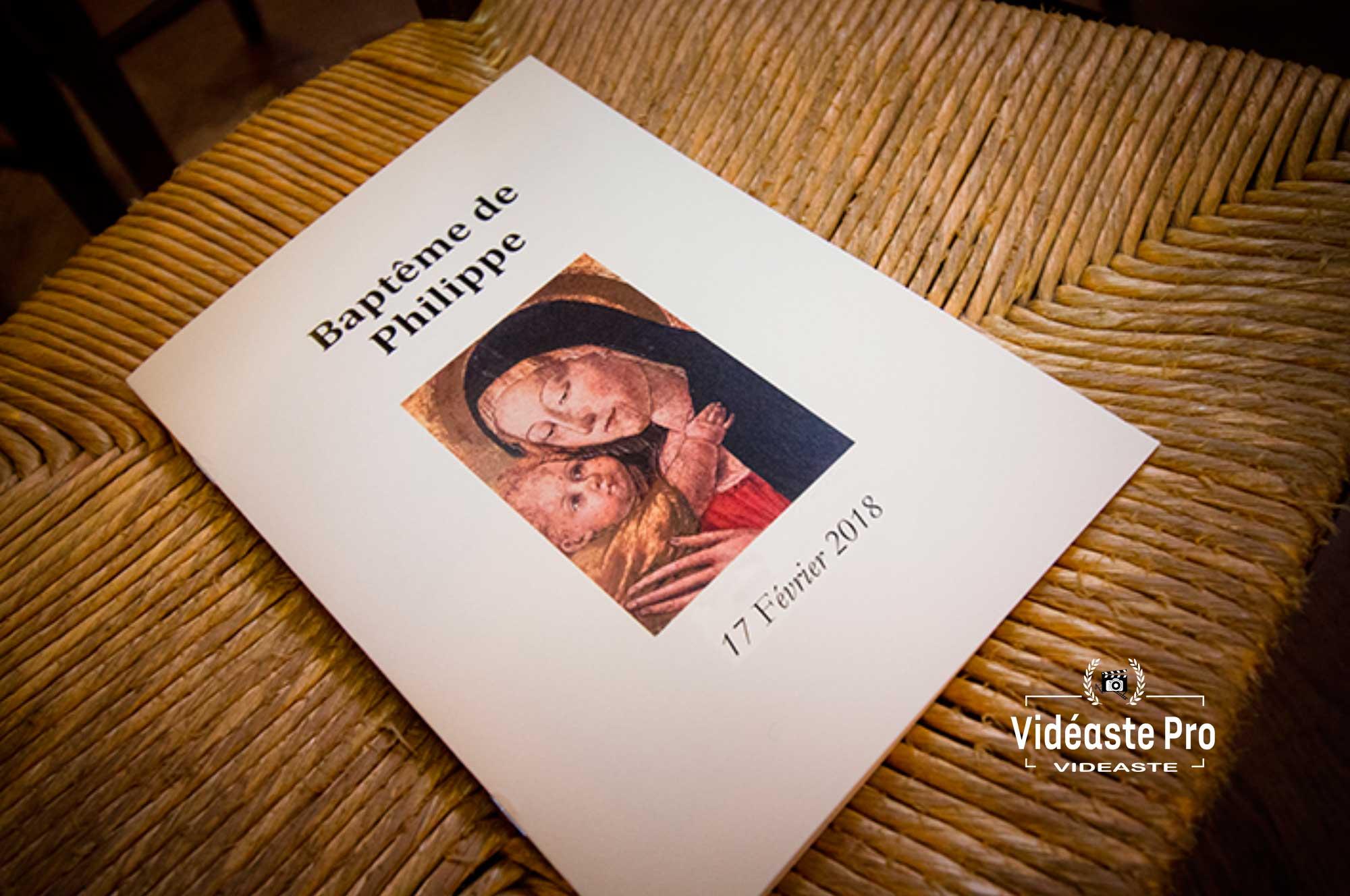 Tarifs vidéaste baptême Paris, tarif prix cameraman baptême Paris, forfait tarif reportage vidéo de baptême à Paris